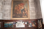 Three Of The Tapestries Hanging Below A Painter By An Italian Master