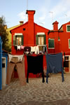 Clothes on the line, Burano